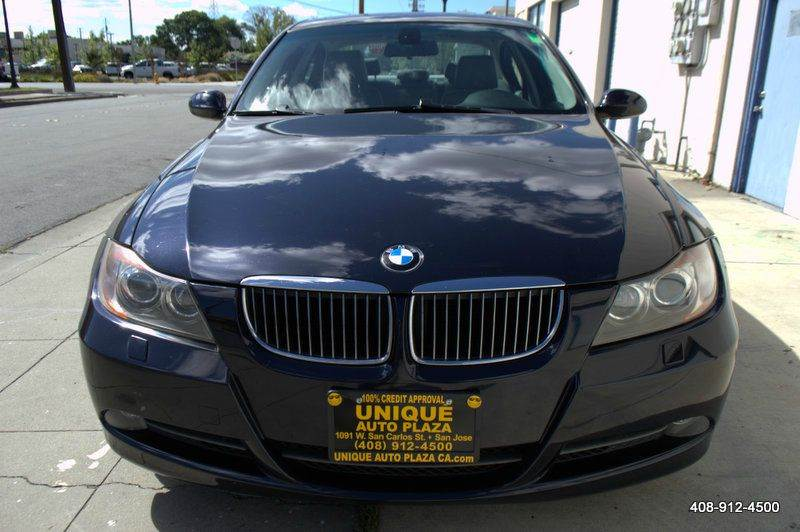 2006 BMW 3 SERIES 330XI AWD 4DR SEDAN blue 18 inch alloy wheels 6-speed shiftable automatic tran