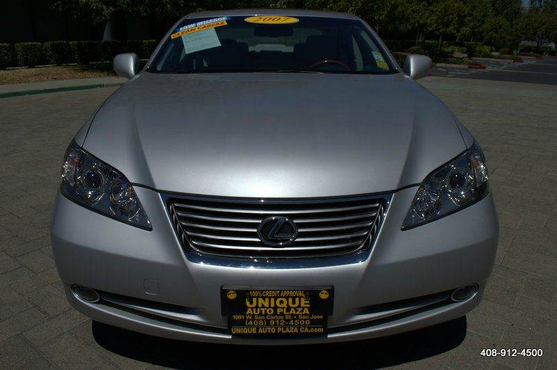 2007 LEXUS ES 350 BASE 4DR SEDAN silver 21555r17 summer tires 2-stage unlocking doors abs - 4-