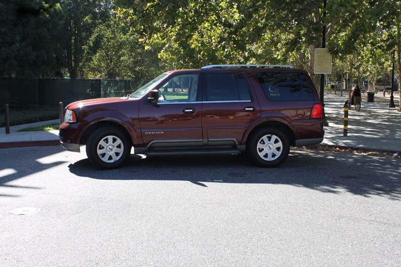 2003 LINCOLN NAVIGATOR LUXURY 4DR SUV maroon abs - 4-wheel adjustable pedals - power air suspen