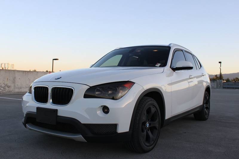 2013 BMW X1 SDRIVE28I 4DR SUV white 2-stage unlocking doors abs - 4-wheel active head restraint