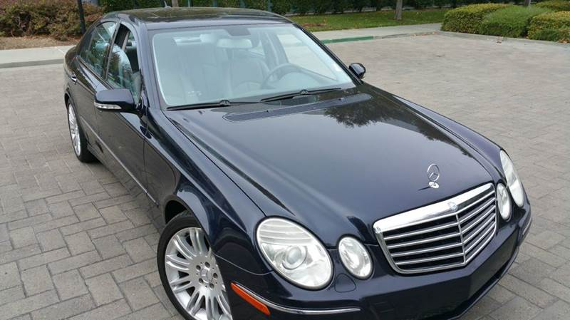 2007 MERCEDES-BENZ E-CLASS E350 4DR SEDAN blue 2-stage unlocking doors abs - 4-wheel active hea