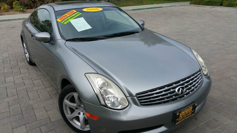 2006 INFINITI G35 BASE 2DR COUPE WAUTOMATIC gray abs - 4-wheel active head restraints - dual fr