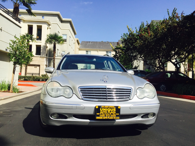 2002 MERCEDES-BENZ C-CLASS C320 4DR WAGON silver abs - 4-wheel anti-theft system - alarm casset