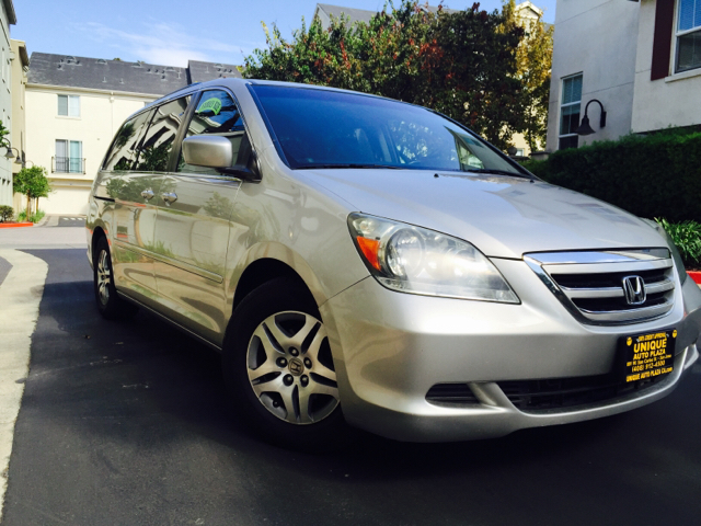 2007 HONDA ODYSSEY EX-L 4DR MINI VAN silver 2-stage unlocking doors abs - 4-wheel air filtratio