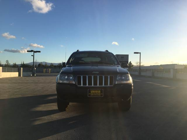 2004 JEEP GRAND CHEROKEE LAREDO 4DR SUV blue 5-speed automatic transmission abs - 4-wheel axle