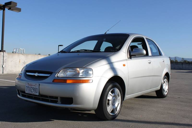 2004 CHEVROLET AVEO LS 4DR SEDAN gray front air conditioning multi-function remote - keyless ent