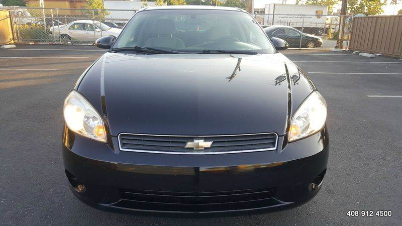 2006 CHEVROLET MONTE CARLO LS 2DR COUPE black 4-wheel abs air filtration airbag deactivation -
