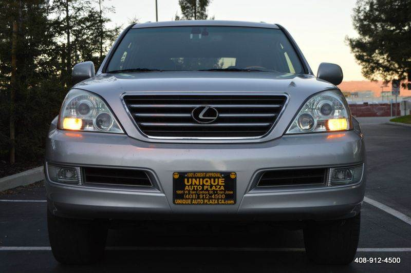 2005 LEXUS GX 470 4WD 4DR SUV silver 4wd type - full time abs - 4-wheel air suspension - rear