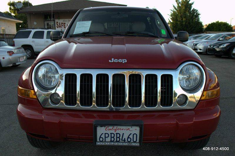 2005 JEEP LIBERTY LIMITED 4WD 4DR SUV W 28F burgundy 4-wheel abs anti-theft system - alarm axl