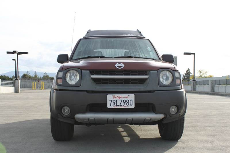 2002 NISSAN XTERRA XE-V6 2WD 4DR SUV maroon abs - 4-wheel axle ratio - 464 front airbags - dua