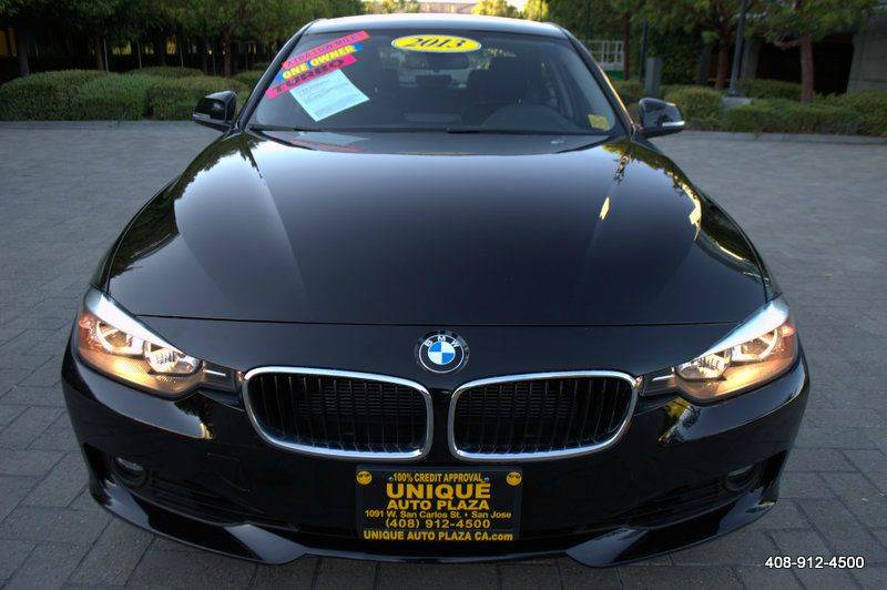 2013 BMW 3 SERIES 328I 4DR SEDAN SULEV black 17 in alloy wheels 18 in light alloy multi-spoke