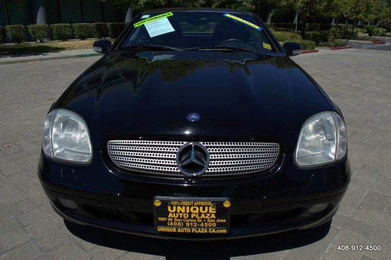 2002 MERCEDES-BENZ SLK SLK 320 2DR CONVERTIBLE black 5-speed automatic transmission abs - 4-whee