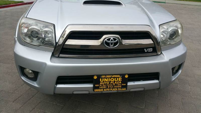 2006 TOYOTA 4RUNNER SPORT EDITION 4DR SUV WV8 silver abs - 4-wheel air filtration airbag deact
