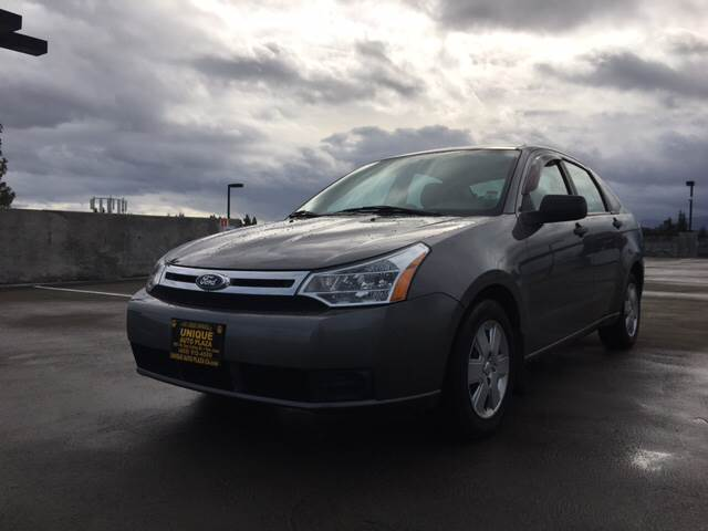 2010 FORD FOCUS S 4DR SEDAN gray abs - 4-wheel airbag deactivation - occupant sensing passenger
