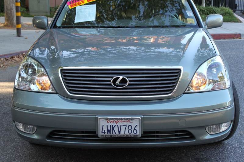 2002 LEXUS LS 430 BASE 4DR SEDAN green abs - 4-wheel air conditioning - front and rear anti-the