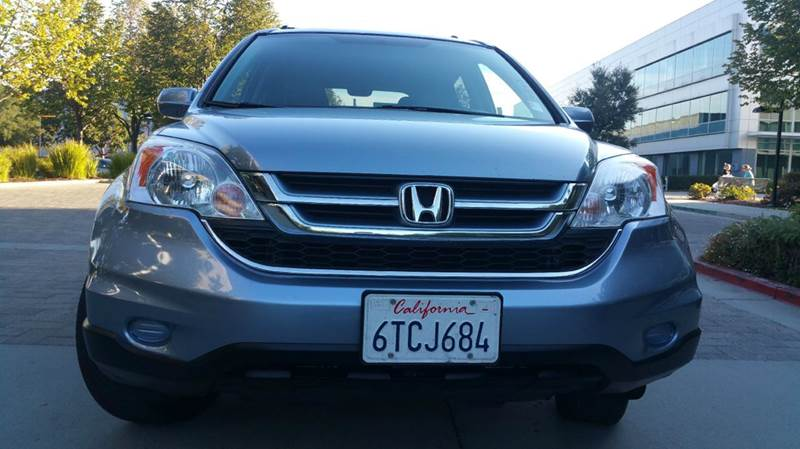2011 HONDA CR-V EX-L AWD 4DR SUV blue 4x4 2-stage unlocking doors 4wd type - on demand abs - 4-