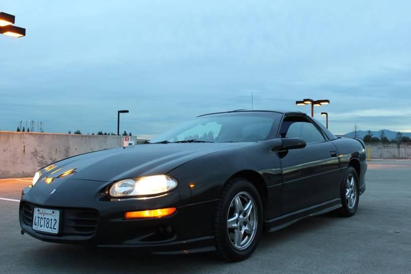 1999 CHEVROLET CAMARO Z28 2DR HATCHBACK black 179600 miles VIN 2G1FP22G9X2101874