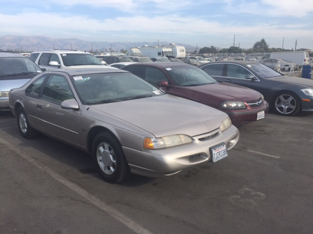 1995 FORD THUNDERBIRD LX 2DR COUPE gold 46l v8 sohc 16v fi engine alloy wheels cassette cente