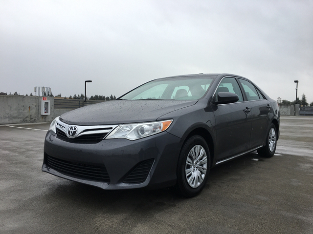 2014 TOYOTA CAMRY LE 4DR SEDAN gray 2-stage unlocking doors 50 states emissions abs - 4-wheel