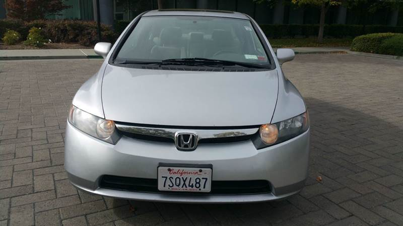 2008 HONDA CIVIC EX 4DR SEDAN 5M silver abs - 4-wheel air filtration airbag deactivation - occu