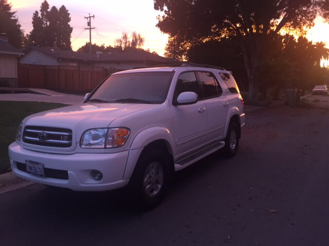 2001 TOYOTA SEQUOIA LIMITED 4WD 4DR SUV unspecified abs - 4-wheel anti-theft system - alarm axl