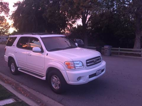 2001 Toyota Sequoia for sale at Car Time Inc in San Jose CA