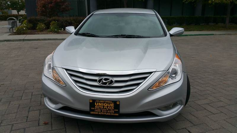 2013 HYUNDAI SONATA GLS 4DR SEDAN silver 2-stage unlocking doors abs - 4-wheel active head rest