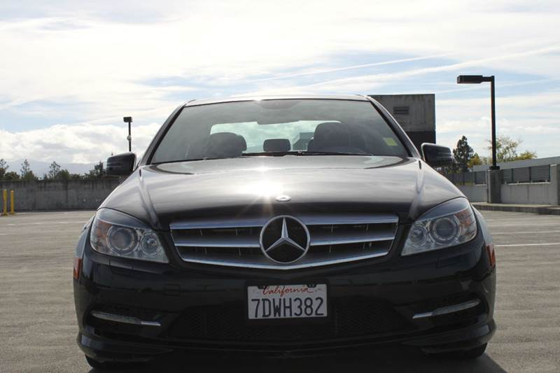 2011 MERCEDES-BENZ C-CLASS C300 SPORT 4MATIC AWD 4DR SEDAN black 4wd type - full time abs - 4-wh