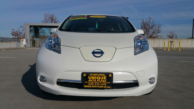 2011 NISSAN LEAF SL 4DR HATCHBACK white abs - 4-wheel active head restraints - dual front airba