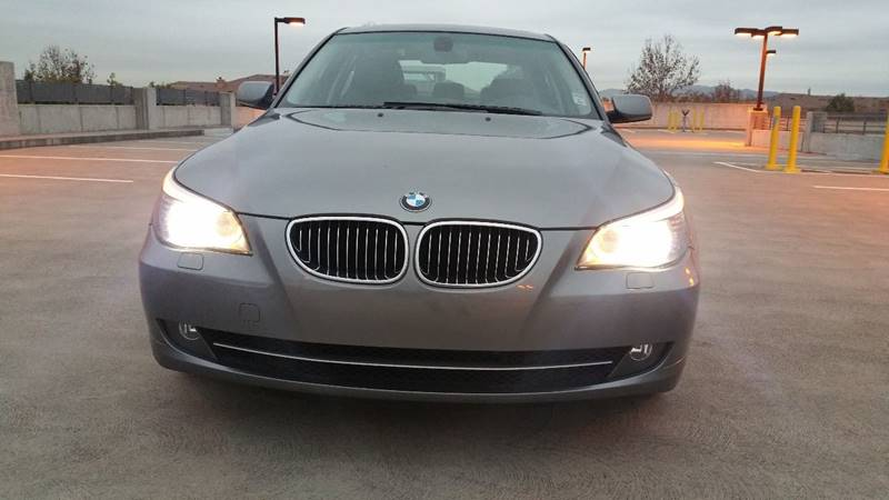 2009 BMW 5 SERIES 528I 4DR SEDAN gray abs - 4-wheel active head restraints - dual front air fil