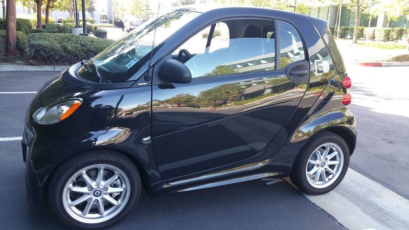 2013 SMART FORTWO PASSION 2DR HATCHBACK black mirror color - silver door handle color - black e