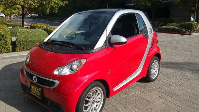 2013 SMART FORTWO PASSION ELECTRIC DRIVE 2DR HATCH red front bumper color - body-color grille co