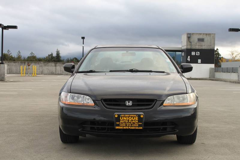 1999 HONDA ACCORD EX V6 2DR COUPE black abs - 4-wheel anti-theft system - alarm center console