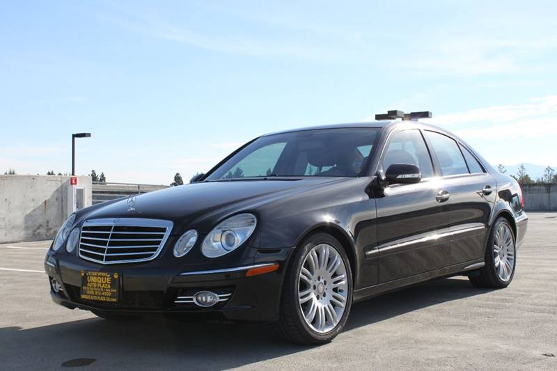 2008 MERCEDES-BENZ E-CLASS E 350 4DR SEDAN black grille color - chrome woodleather steering whe