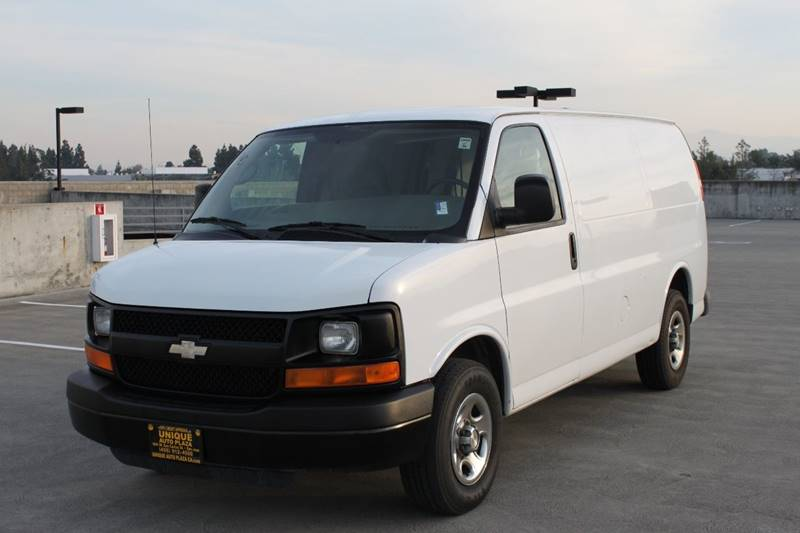 2007 CHEVROLET EXPRESS CARGO 1500 3DR CARGO VAN white abs - 4-wheel antenna type - mast anti-th