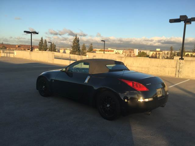 2006 NISSAN 350Z TOURING 2DR CONVERTIBLE 35L V6 gray abs - 4-wheel airbag deactivation - occup