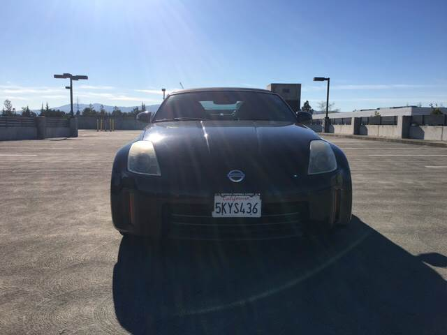 2006 NISSAN 350Z TOURING 2DR CONVERTIBLE 35L V6 black front air conditioning - automatic climat