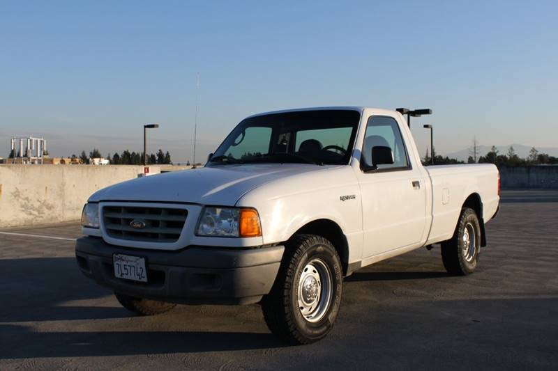 2003 FORD RANGER XL 2DR STANDARD CAB RWD SB white abs - 4-wheel axle ratio - 373 center consol