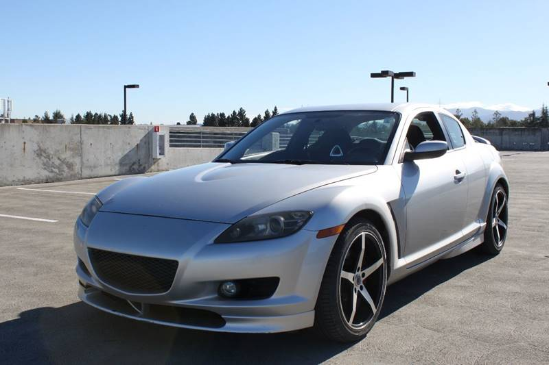 2007 MAZDA RX-8 SPORT 4DR COUPE 13L 2RTR 6M silver 2-stage unlocking doors abs - 4-wheel air