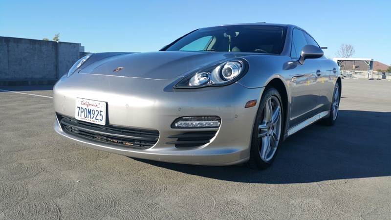 2011 PORSCHE PANAMERA BASE 4DR SEDAN silver exhaust - quad tip exhaust tip color - stainless-ste