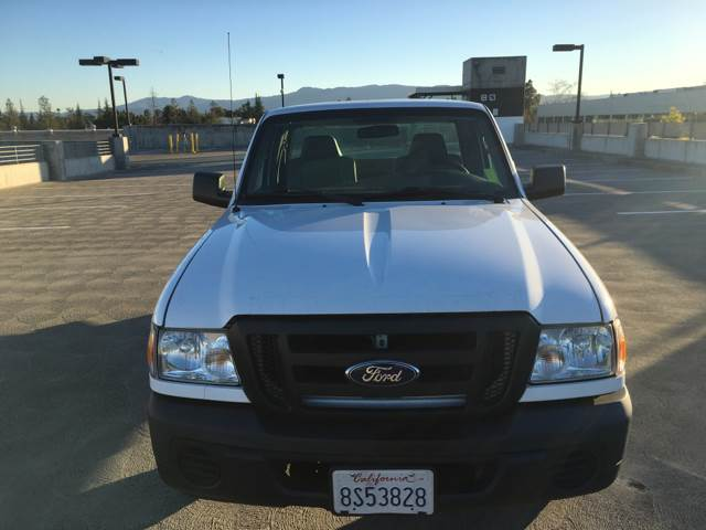 2008 FORD RANGER XL 4X2 2DR REGULAR CAB SB white abs - 4-wheel airbag deactivation - passenger s