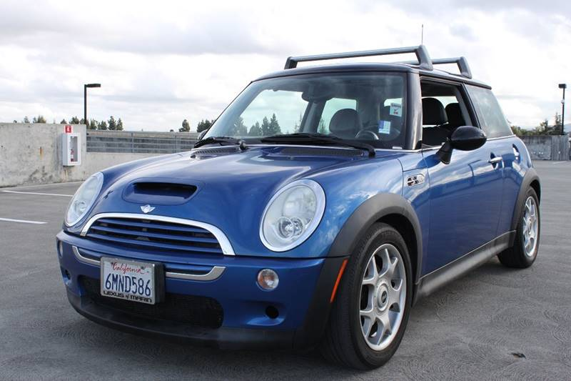 2006 MINI COOPER S 2DR HATCHBACK blue rear spoiler air filtration automatic climate control fr