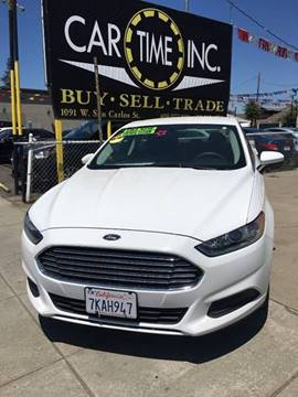 2015 Ford Fusion for sale at Car Time Inc in San Jose CA