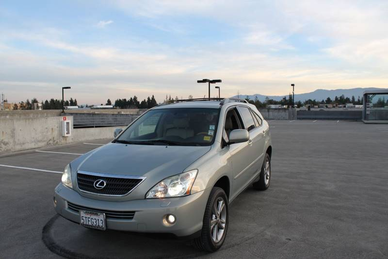 2006 LEXUS RX 400H BASE AWD 4DR SUV silver grille color - chrome rear spoiler air filtration a