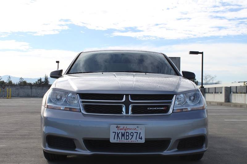 2014 DODGE AVENGER SE 4DR SEDAN gray door handle color - body-color front bumper color - body-co