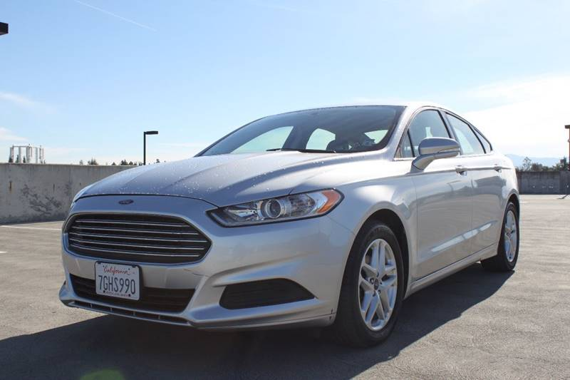 2013 FORD FUSION SE 4DR SEDAN silver door handle color - body-color front bumper color - body-co