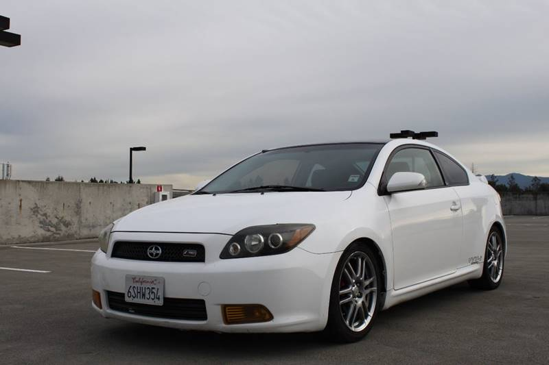 2008 SCION TC SPEC 2DR HATCHBACK 5M white cargo tie downs exhaust tip color - chrome front air