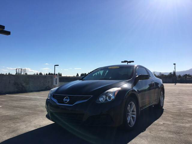 2013 NISSAN ALTIMA 25 S 2DR COUPE black 2-stage unlocking doors abs - 4-wheel active head rest