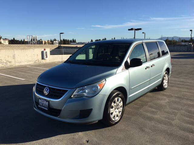 2010 VOLKSWAGEN ROUTAN S 4DR MINI VAN blue 2-stage unlocking doors abs - 4-wheel active head re
