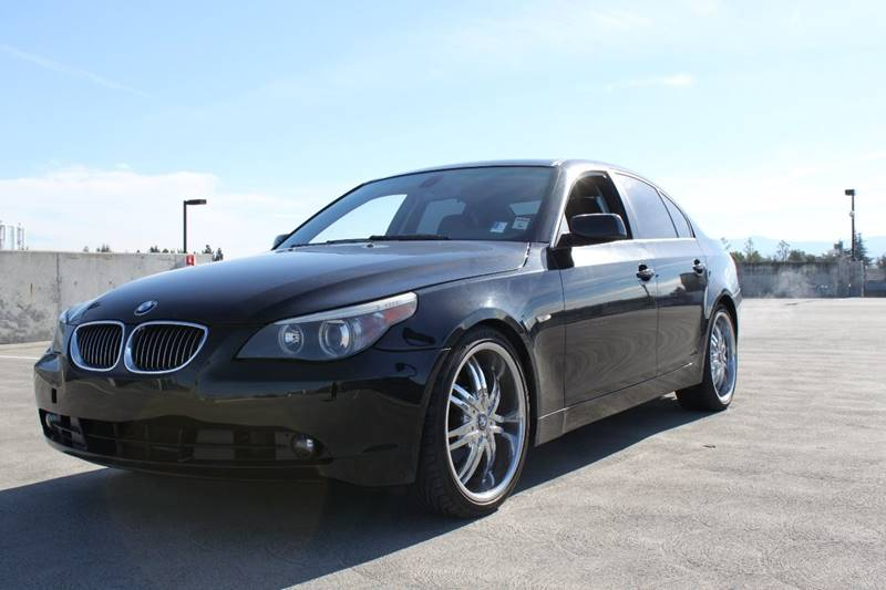 2007 BMW 5 SERIES 530I 4DR SEDAN black 2-stage unlocking doors abs - 4-wheel air filtration - a